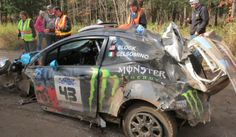 Watch The Hair-Raising Crash That Killed Ken Block's Car! How they survived is quite incredible. Hit the pic to view!