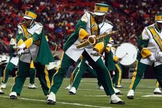Kentucky State University's Mighty Marching Thorobreds