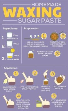 Homemade Waxing Sugar Paste is part of Diy beauty treatments - Sugaring Hair Removal, Hair Removal Diy, Homemade Hair Removal, At Home Hair Removal, Beauty Hacks Hair Removal, Homemade Wax For Eyebrows, Permanent Hair Removal, Upper Lip Hair Removal, Underarm Hair Removal