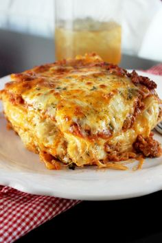 This Southern-style lasagna does not mess around: it's got andouille sausage and FIVE cheeses. Get the recipe from Creole Contessa.   - Delish.com