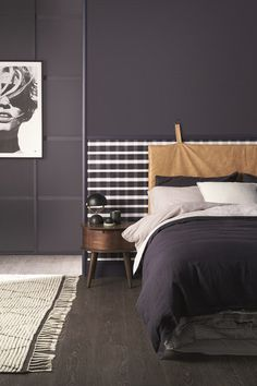 How to style a room around Black Flame @homebeautifulmag
