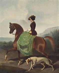 Alfred de Dreux (French, 1810-1860).