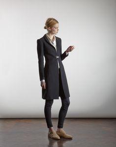 Katherine Hooker |AW14 | Courtfield Wool Coat