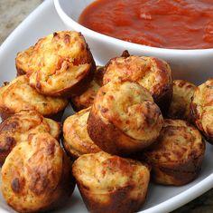 Pizza muffins... weer eens wat anders