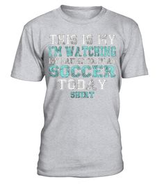"# This Is My I'm Watching My Daughter Funny Soccer T-Shirt Top .  Special Offer, not available in shops      Comes in a variety of styles and colours      Buy yours now before it is too late!      Secured payment via Visa / Mastercard / Amex / PayPal      How to place an order            Choose the model from the drop-down menu      Click on ""Buy it now""      Choose the size and the quantity      Add your delivery address and bank details      And that's it!      Tags: This is my I'm…"