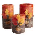 Creamy Caramel Pumpkin Pillars