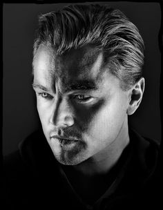 Marco Grob, portrait of Leonardo  DiCaprio