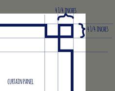 Greek Key Tablecloth Using Drop Cloth And Grosgrain Ribbon