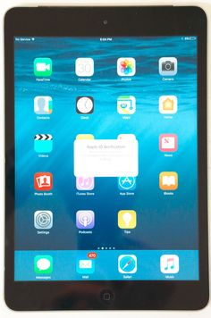 Apple iPad mini 2nd Generation 64GB Wi-Fi  Cellular Verizon Black - BROKEN