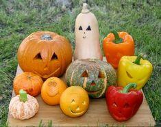 "A bounty of ""pumpkins."" Healthy Halloween, Halloween Treats, Scary Faces, How To Make Lanterns, Halloween Jack, Jack O, Budget Meals, Pumpkin Carving, Harvest"