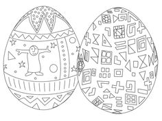 Hundreds of Free and Printable Easter Egg Coloring Pages: Best Coloring Pages Free Easter Egg Coloring Pages