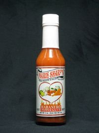 HOT: This sauce has more habanero peppers than the original recipe, yet it still retains its original flavor, taste, and aroma.  (Heat Level 2)