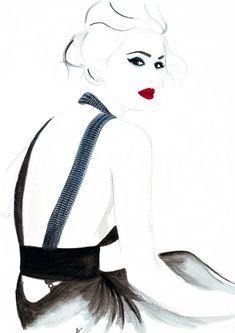 Watercolour illustration by Eleni