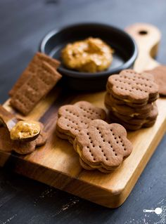 Chocolate crackers w