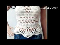 BLUSA DE CROCHÊ / BLOUSE CROCHET GRAFIC - YouTube