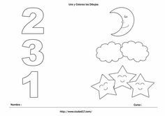 atividades de matemática pré escolar - Pesquisa Google Preschool Learning Activities, Infant Activities, Preschool Activities, Kids Learning, Preschool Coloring Pages, Numbers Preschool, Kindergarten Math Worksheets, Math For Kids, Exercise For Kids
