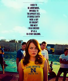 Easy A. One of my favorite movies! Teen Movies, Funny Movies, Good Movies, Series Movies, Film Movie, Movies Showing, Movies And Tv Shows, I Love Cinema, Favorite Movie Quotes