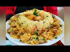 Κοτόπουλο a la cream parma Fried Rice, Fries, Favorite Recipes, Cream, Ethnic Recipes, Food, Youtube, Creme Caramel, Essen