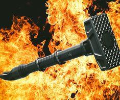 Sledgehammer Battering Ram - http://tiwib.co/sledgehammer-battering-ram/ #WeaponsArmor