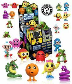 Retro Games Mystery Minis – Mini-Figuras Funko Blind-Box