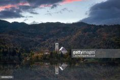 06-29 View from tha lake with the reflection of church... #radovljica: 06-29 View from tha lake with the reflection of church… #radovljica