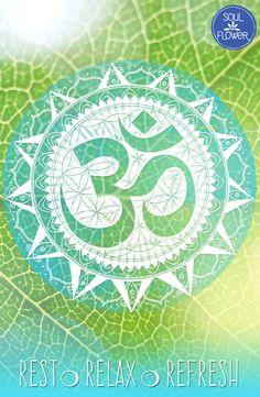 Namaste, Soul Flower buds!   #feelinrefreshed #namaste #yoga #om