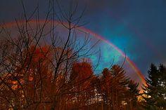 Double rainbow - HDR