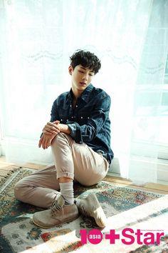 Cute Asian Guys, Asian Boys, Asian Men, Korean Men, Korean Actors, Ji Soo Actor, Love 020, Joon Hyuk, Star Magazine