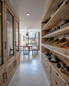 The dream kitchen storage 😍 Home Interior Design, Pantry Design, House Interior, Kitchen Interior, Home Kitchens, Home, Dream Kitchen, Kitchen Pantry Design, Home Decor