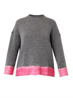 Contrast-hem cashmere-blend sweater | Marni | MATCHESFASHION.COM
