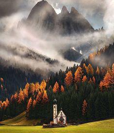 Santa Magdalena in south Tyrol, Italy