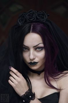 Photography: B.Kostadinov Model / MUA: Darya Goncharova Veil / Choker / Cuffs: Sinister from The Gothic Shop Welcome to Gothic and Amazing |www.gothicandamazing.org