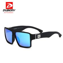 4f2ae9bfd20b DUBERY Polarized Sunglasses Men Reflective Coating Square Wood Sun Glasses  Brand Designer Oculos De Sol With Original Case - Tshirt and Jeans Store
