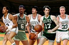 All time Boston Celtics starting five