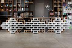 Book Centre Trieste by Sono Architects