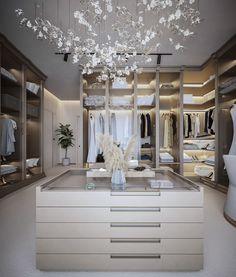 Dressing Room Decor, Dressing Room Closet, Dressing Room Design, Dressing Rooms, Dream Home Design, Modern House Design, Home Interior Design, Walk In Closet Design, Closet Designs