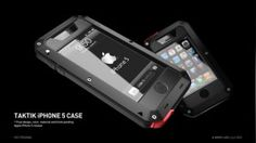 Sometimes you need to call in the heavy guns to get a job done. In some situations, only a tank will suffice. For these kinds of times, you will have a hard time finding something more rugged, durably, and heavy duty than the TAKTIK iPhone 5 Armor Case.