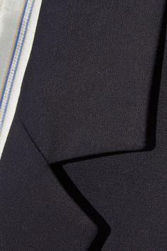 A.P.C. Atelier de Production et de Création - Taylor Stretch-cotton Blazer - Midnight blue - FR