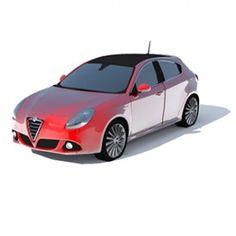 Alfa Romeo Giulietta 3D Object   FREE Artlantis Objects Download Alfa Romeo, Classic Cars, Objects, 3d, Free, Arquitetura, Cars, Trendy Tree, Name Place Cards