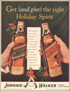 JOHNNIE WALKER SCOTCH WHISKEY LIFE 12/16/1940 p. 112