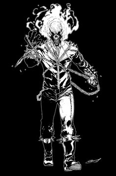 Ghost Rider_fanart by scabrouspencil.deviantart.com on @deviantART