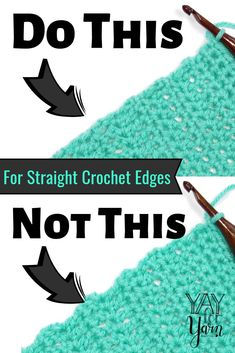 the Chainless Starting Stitches to Give Your Crochet a Perfectly Straight Edge! Use the Chainless Starting Stitches to Give Your Crochet a Perfectly Straight Edge! Use the Chainless Starting Stitches to Give Your Crochet a Perfectly Straight Edge! Crochet Basics, Knit Or Crochet, Learn To Crochet, Crochet Crafts, Free Crochet, Crotchet, Double Crochet, Crochet Ideas, Crochet Tutorials
