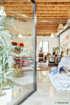 Exclusive  The Jungalow s L.A. Office Is a Boho Feast for the Eyes via   MyDomaine 31364e0309928