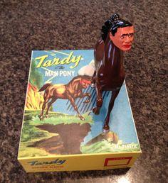 Tardy the Man-Pony. Ride on, champion!