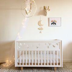 Image of Lit Birdy evolutif Dibujos Baby Shower, Baby Furniture Sets, Kid Beds, Decoration, Baby Room, Cribs, Nursery, Interior Design, Wood