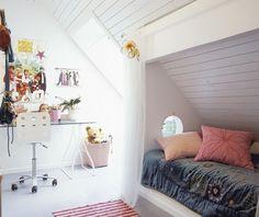 Voor zolderkamer met nisje  Bedroom Kids  Pinterest  Met