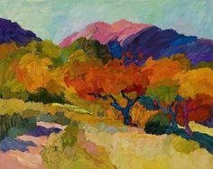 Larisa Aukon, Bear's Canyon by Larisa Aukon Oil ~ 24 x 30