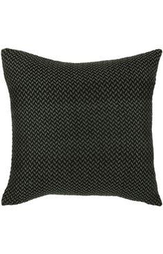Rizzy Rugs Bradley Decorative Pillow Black