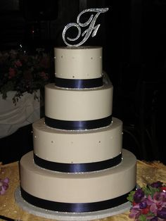 BLING WEDDING CAKES | Bling Wedding Cake | Flickr - Photo Sharing!
