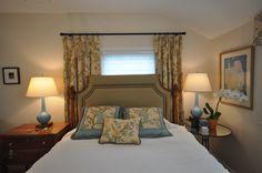 A lady's bedroom..soft and sophisticated..Designer Lena Kroupnik #lenakroupnik #interiordesigner #bedroom